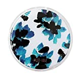 Stylish Round Contact Lenses Case Storage Holder Blue Flower