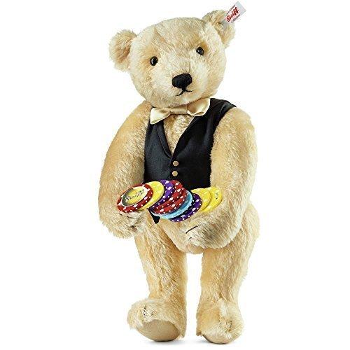 (Steiff Limited Edition Croupier 35cm Mohair Bear by Steiff)