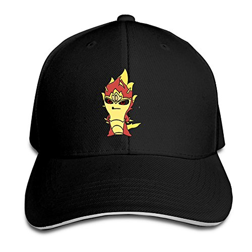 Slugterra Return Of The Elementals Fire Brim Cap Sandwich Peaked (Fire Brim Cap)
