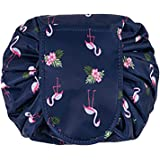 Large Capacity Lazy Makeup Toiletry Bag Drawstring Portable Travel Casual Waterproof Quick Pack Magic Makeup Storage Bag Perfect for Women Girls