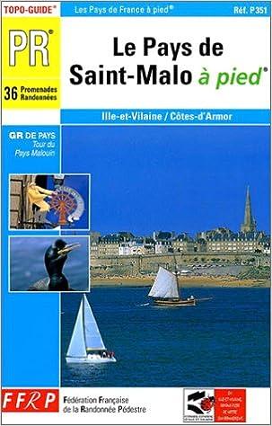 Livre gratuits Le pays de St-Malo à pied pdf epub