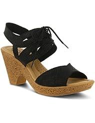 Spring Step Womens Gerberas Heeled Sandal