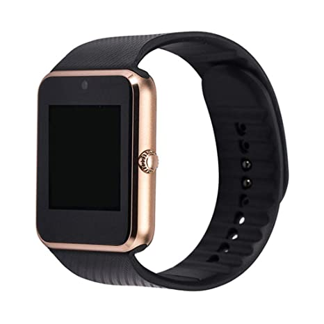 FFHJHJ Reloj Inteligente Bluetooth Smart Watch admite Tarjeta TF ...