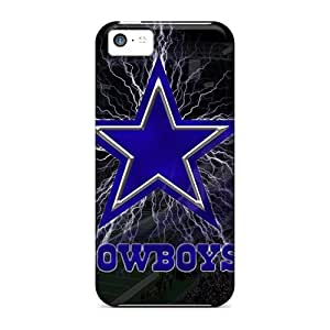 CharlesPoirier Iphone 5c Shockproof Hard Phone Case Allow Personal Design Nice Dallas Cowboys Pattern [tqE13579DDTb]