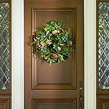 San Francisco Estate Magnolia Wreath - 22 inch
