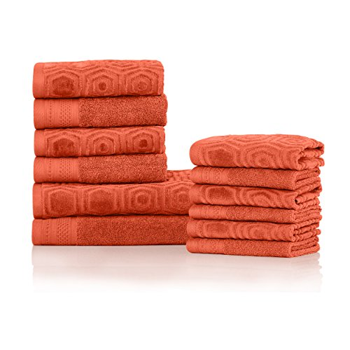 Superior 100% Cotton 500 GSM, Plush, Absorbent, and Durable