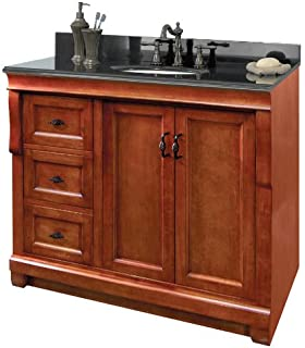 Foremost NAWA3621D Naples 36-Inch Width x 21-Inch Depth Vanity ...