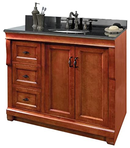 Foremost NACA3621DL 36 Inch Naples Vanity, Warm Cinnamon