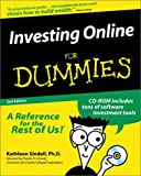Investing Online for Dummies, Kathleen Sindell, 0764505092