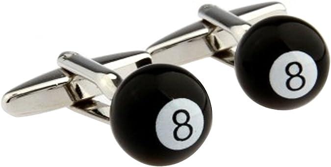 Ocho 8 Ball Pool billar Gemelos puño francés camiseta de juegos ...