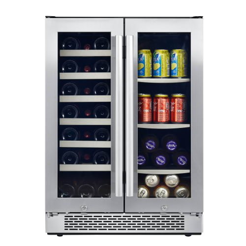 Avallon Awbc241ggfd 24 Inch Wide 21 Bottle And 60 Can