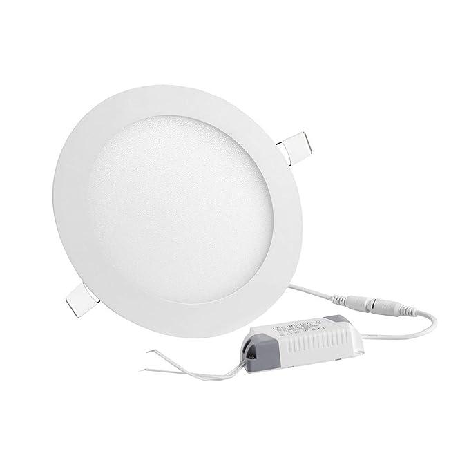 Amazon Com Yescom 12w 6 Led Recessed Panel Ceiling Light Ultra