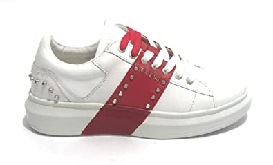 Guess Uomo Sneakers Kean Nero MOD. FM5KEA LEA12: Amazon.it