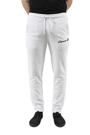 ellesse Jogging eh h Pant Molleton Classic Blanc  Amazon.fr ... 474fc8cc6b5