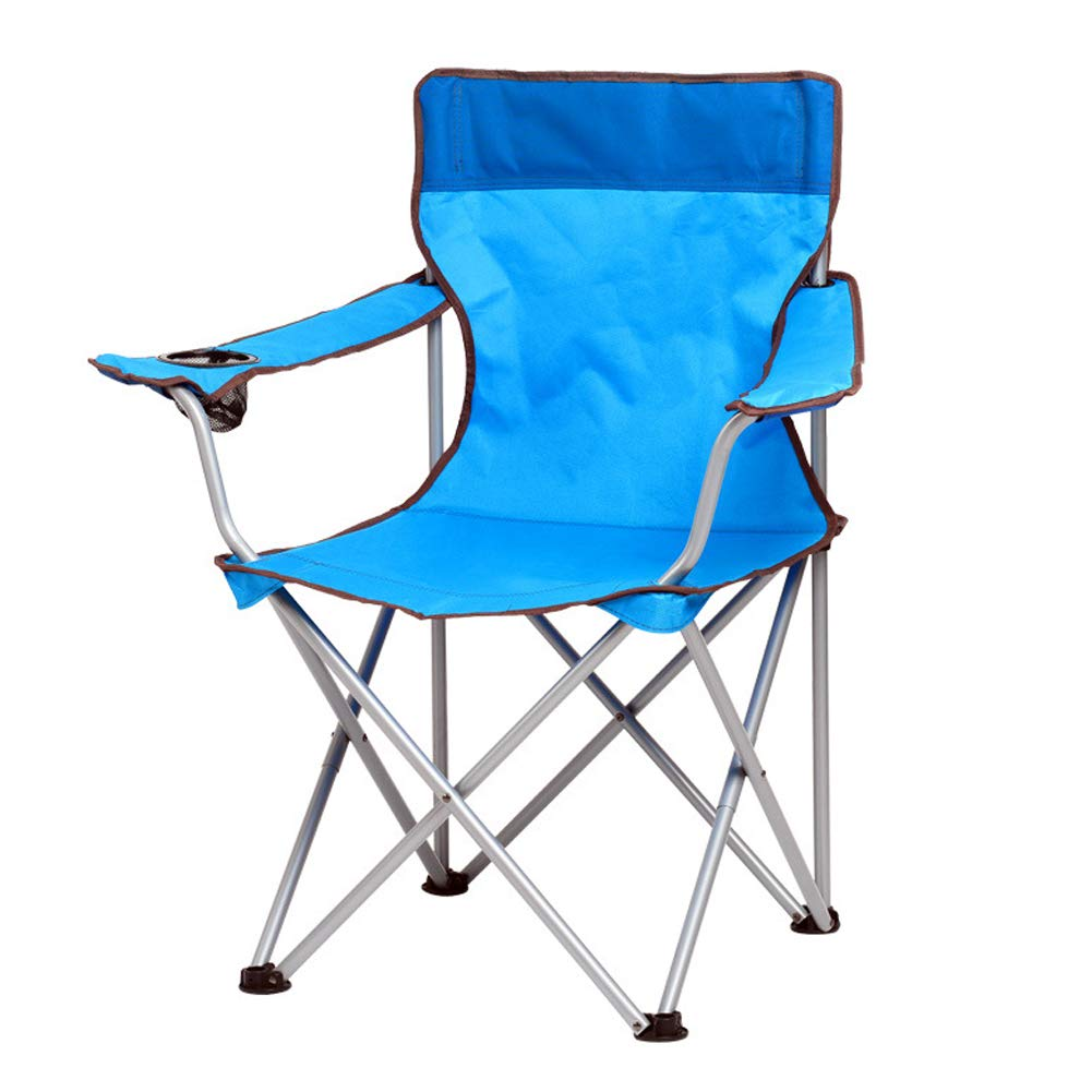 Folding Chair Camping Portable Folding Table and Chair Set Leisure Chair Beach Folding Stool Sketch Fishing Chair-lakebluespelleddarkblue