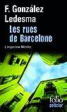 Les rues de Barcelone par González Ledesma