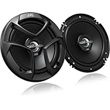 "JVC CS-J620 300W 6.5"" CS Series 2-Way Coaxial Car Speakers, Set of 2"