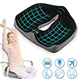Memory Foam Seat Chair Cushion for Relieves Back Sciatica Pain Tailbone Pain