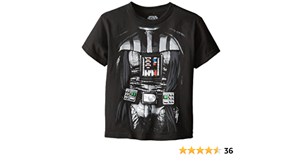 Details about  /STAR WARS Darth Vader Tee for boys Black T SHIRT Disney Store Size 4 /& 7//8 NEW