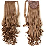 """Onedor 20"""" Long Curly Wrap Around Ponytail Hair Extension Synthetic 120g-130g"""