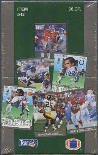 1991 Fleer Ultra Football Cards Box of 36 Packs Factory Sealed.