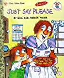 img - for Just Say Please (Little Golden Book) book / textbook / text book