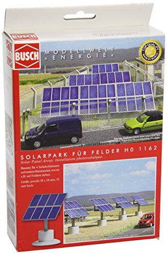 busch-ho-scale-solar-panels-on-concrete-bases-model-train-scenery-kit-1161