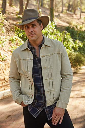 c0fad808 Scala Classico Men's Crushable Felt Outback Hat: Amazon.ca: Clothing &  Accessories