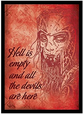 Legion Supplies LGNMAT099 Hell is Empty Deck Protector 50 Count