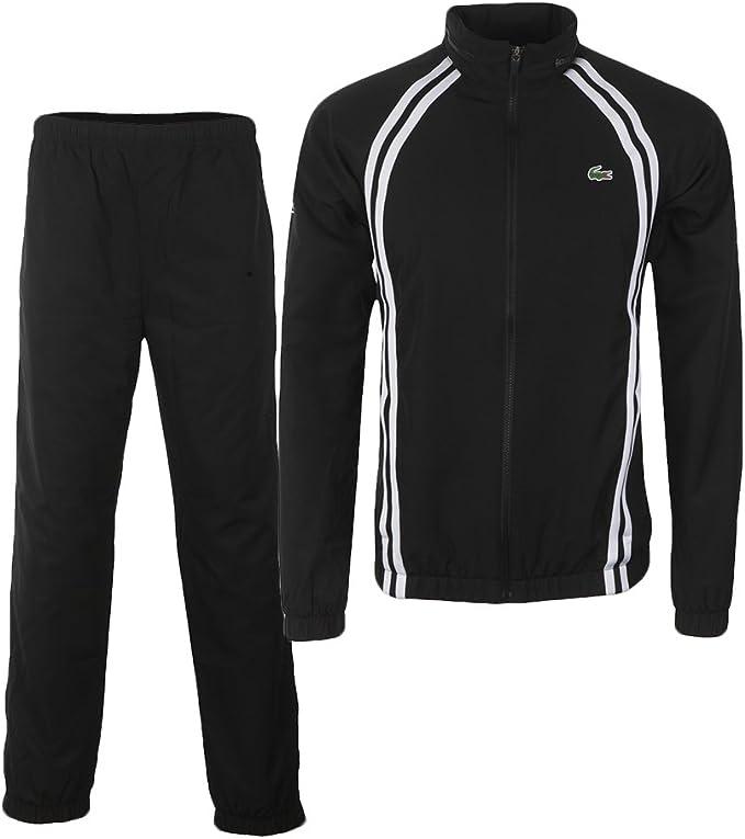 Lacoste - Chándal - para Hombre, Color - Negro y Blanco, tamaño 5 ...