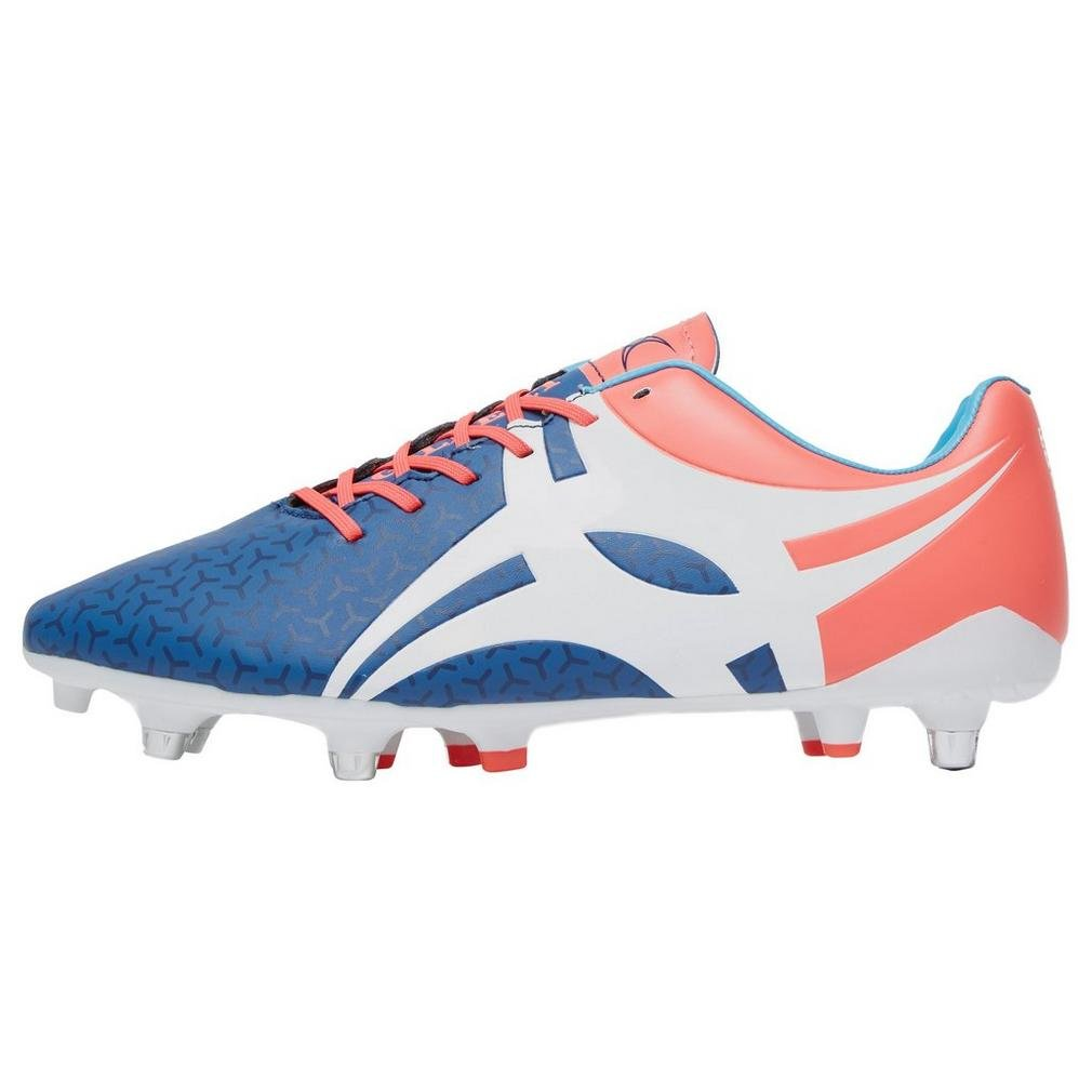 Gilbert Evolution Hybrid Men's Rugby Boots, Blue, US10
