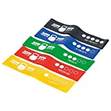 ACT Fitness professional resistance bands for physical therapy, resistance training, speed training, lateral resistance and stretching For Sale