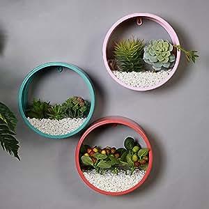 Wall decoration hanging pots pendant creative home shop window coffee-M