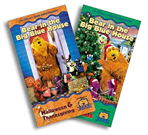 Amazon.com: Bear in the Big Blue House - Halloween & Thanksgiving ...