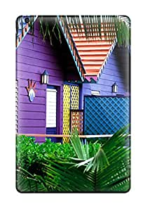 High-end Case Cover Protector For Ipad Mini(colorful Houses, Bahamas) FHNCPMUJ5TB3HNNE