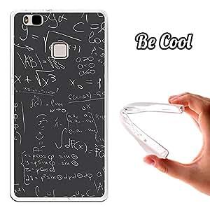 Becool - Funda gel flexible para huawei p9 lite .carcasa tpu fabricada con la mejor silicona protege, se adapta a la perfección a tu smartphone y con nuestro diseño exclusivo fórmulas matemáticas