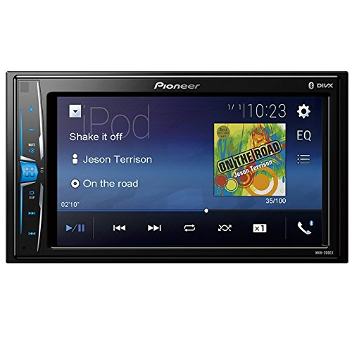 Pioneer MVH-200EX Double Din Bluetooth in-Dash Digital Media Car - Pioneer Radio Player Dvd Car