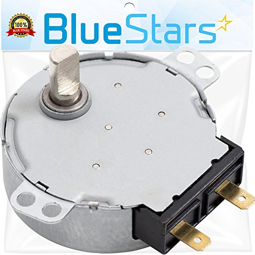 Ultra Durable WB26X10038 Microwave Turntable Motor Replacement Part by Blue Stars – Exact Fit for GE & Kenmore Microwaves – Replaces AP2024962 PS237772