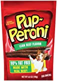 Pup-Peroni Lean Beef Recipe Dog Snack, 5.6-Ounce Pouches (Pack of 8), My Pet Supplies