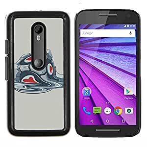 Stuss Case / Funda Carcasa protectora - Portal Box - Motorola MOTO G3 / Moto G (3nd Generation)