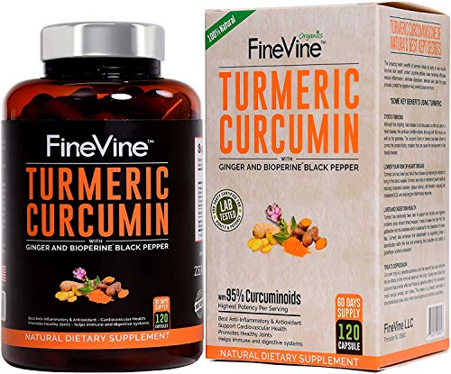 Turmeric Curcumin with BioPerine