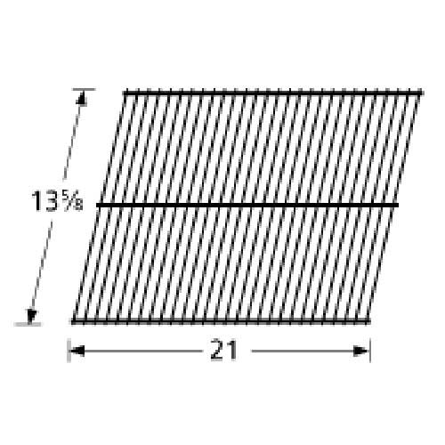 Music City Metals 92201 Steel Wire Rock Grate Replacement for Select Roper Gas Grill Models