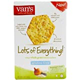 Van's Simply Delicious , Lots of Everything Crackers, 5 Ounce Boxes (Pack of 6) by Van's Simply Delicious
