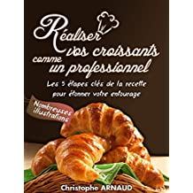 Réalisez vos croissants comme un professionnel: Les 5 étapes clés de la recette pour étonner votre entourage (French Edition)