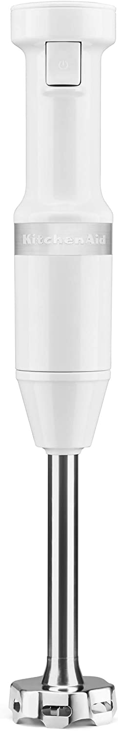 KitchenAid KHBV53WH Variable Speed Corded Hand Blender, White
