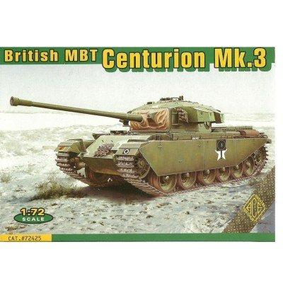 (Rio Ace Military Model Kit - Centurion Mk.3 British Main Battle Tank- 1:72 -AC )