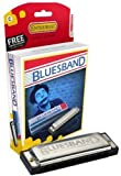 Hohner M55901X Enthusiast Series Blues Band Harmonica, Diatonic, Key C