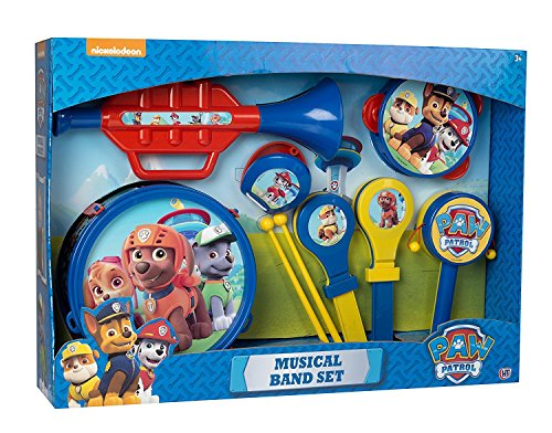 Paw Patrol Musical Band Set Featuring Chase Rubble Marshall