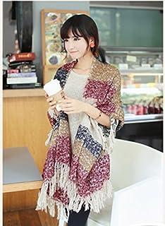 CC * CD Fashion manta cómodo caliente gran tamaño bufanda Wrap chal Plaid Cozy para las