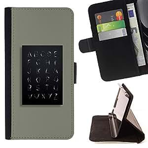Momo Phone Case / Flip Funda de Cuero Case Cover - Escuela enseñe minimalista - LG G4